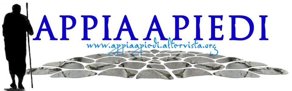 Logo dell'associazione APPIA A PIEDI